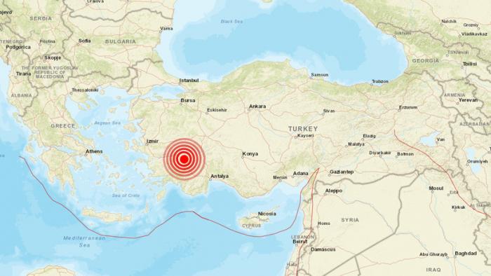 Se registra un terremoto de magnitud 5,7 en Turquía