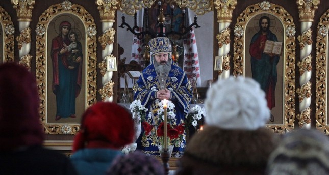 Ukrainian Orthodox archbishop arrested in Crimea