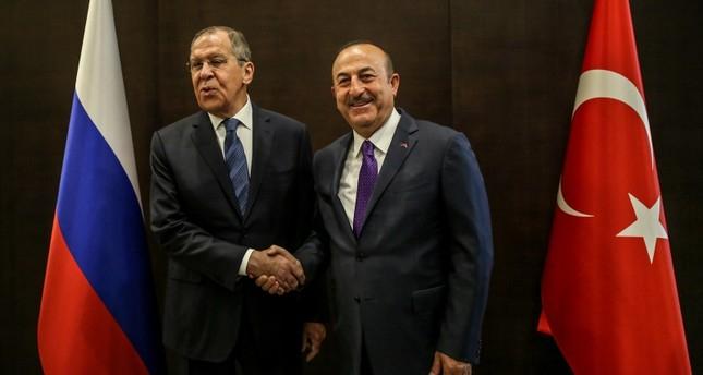 Çavuşoğlu və Lavrov birgə mətbuat konfransı keçirib