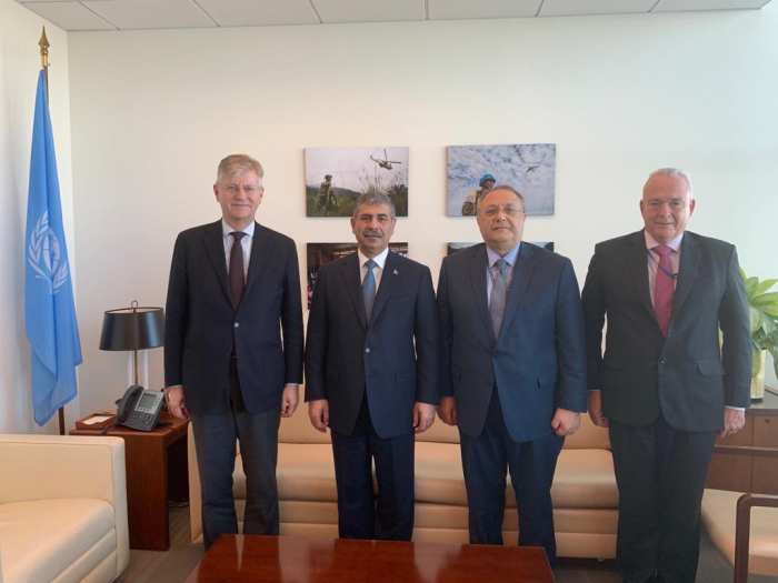 Azerbaijani defense minister discussed Karabakh issue in US - PHOTOS