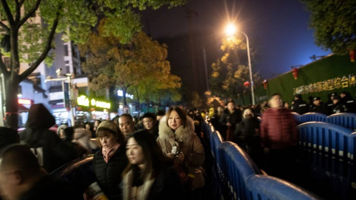 Chine : une voiture fonce dans la foule,   6 morts, le chauffeur abattu