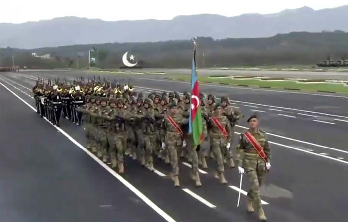 Hərbçilərimiz Pakistanda keçirilən hərbi paradda - FOTOLAR
