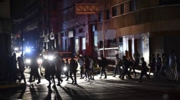 استئناف العمل في فنزويلا بعد انقطاع دام أسبوعاً لانقطاع الكهرباء