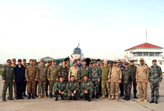 Military Attachés of foreign countries in Azerbaijan visit military unit -   PHOTOS