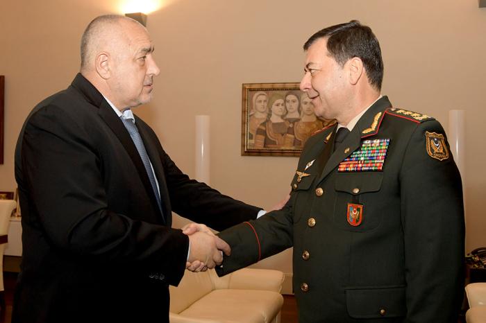 Bolqarıstan-Azərbaycan hərbi əməkdaşlığı müzakirə edilib - FOTOLAR