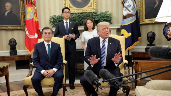 Etats-Unis et Corée du Sud mettent fin à leurs exercices militaires conjoints
