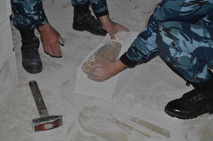 İrandan Gürcüstana aparılan 306 kq heroin gömrükdə tutuldu - FOTOLAR