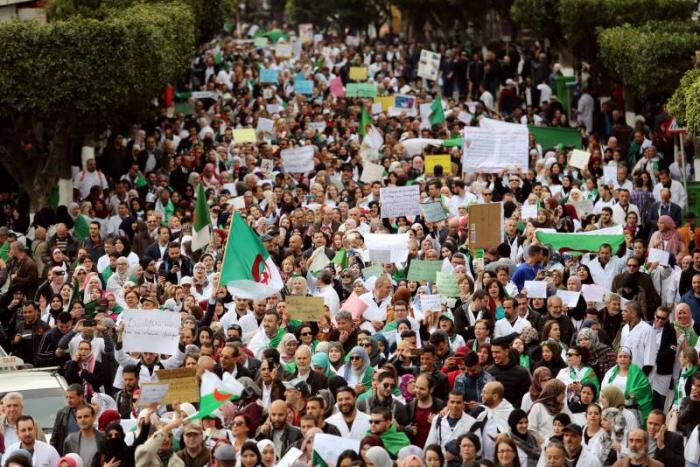 Manifestation à Alger en faveur d