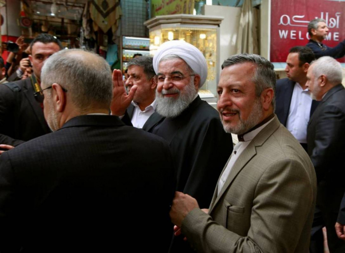 Irak:   le président iranien reçu par le grand ayatollah Sistani