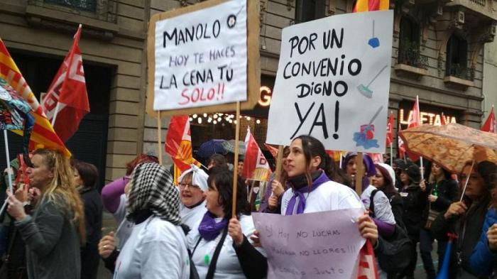 Cómo se celebra el Día de la Mujer en Europa: Manifestaciones y huelgas para reivindicar la igualdad