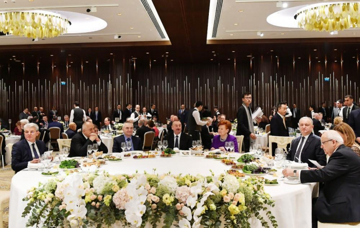 Reception hosted for participants of 7th Global Baku Forum