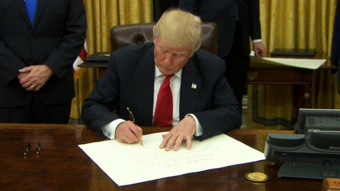 Trump signs proclamation recognising Israel