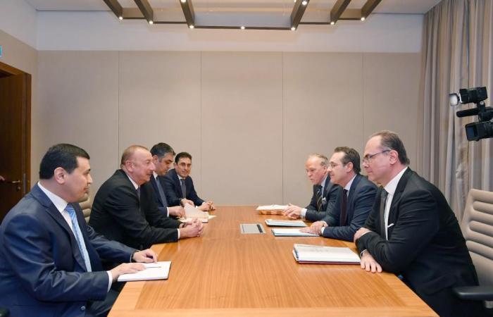 President Ilham Aliyev meets Austrian vice-chancellor
