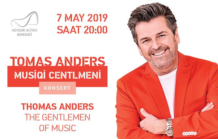Tomas Andersin Bakıda konserti olacaq