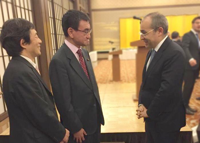 Mikayil Jabbarov mantiene una serie de reuniones en Japón -   FOTOS