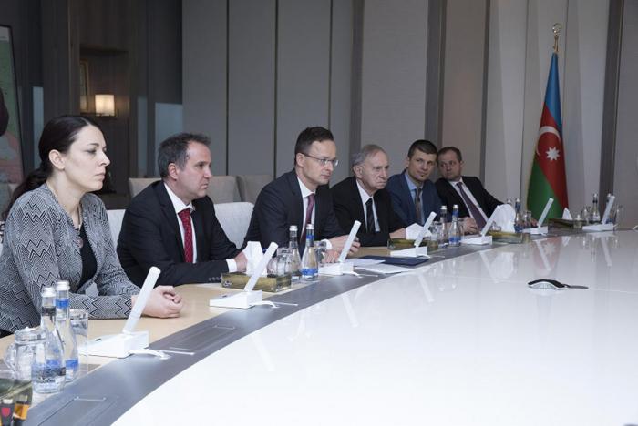 Hungary interested in getting Azerbaijani gas