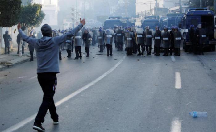 63 injured, 45 arrested in Algeria