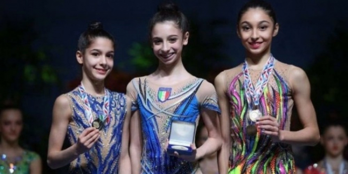 Azerbaijani gymnast wins two medals in France