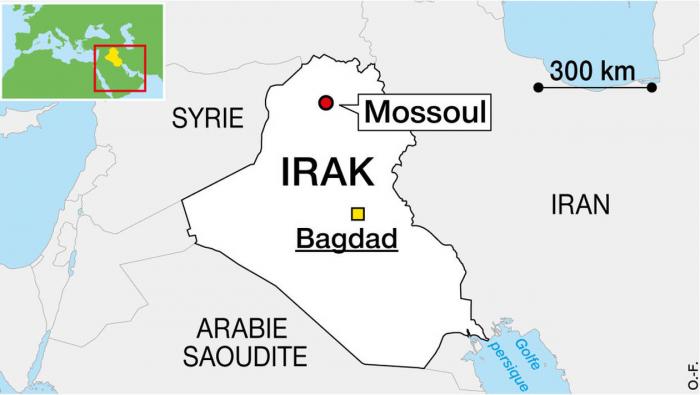 Irak:   54 morts   dans le naufrage d'un bac à Mossoul