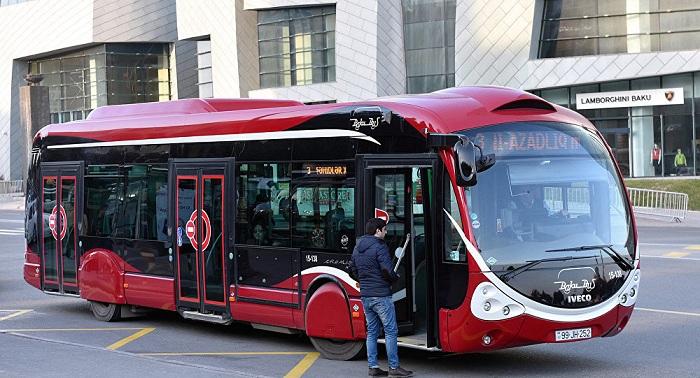 """""""BakuBus""""un avtobusları qəza törədib"""