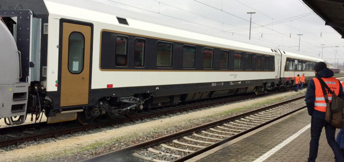 First passenger train arrives in Georgia by Baku-Tbilisi-Kars railway
