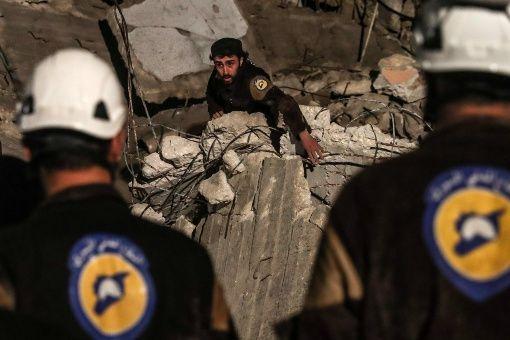 Siria condena apoyo de Estados Unidos a Cascos Blancos