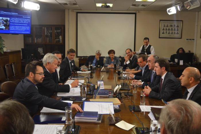 Elmar Mammadyarov holds several meetings in Chile