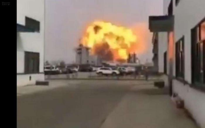 Explosion dans une usine chimique en Chine : au moins 6 morts et 30 blessés graves - Mise à Jour