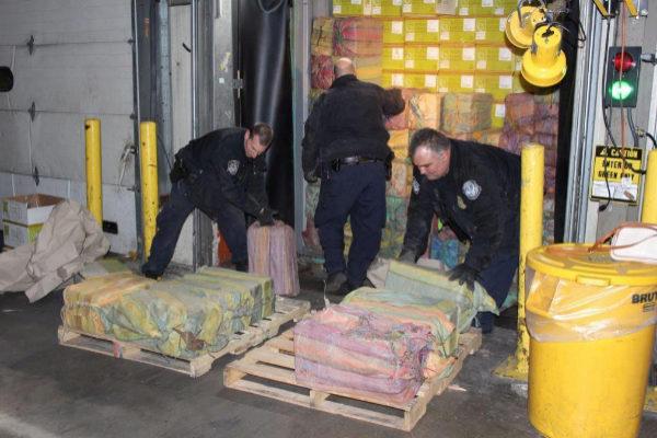 Incautado el mayor cargamento de cocaína en 25 años en el puerto de Nueva York