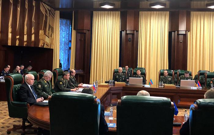 Azerbaijani Deputy Minister of Defense attendsCIS Chiefs of Staff Committee meeting