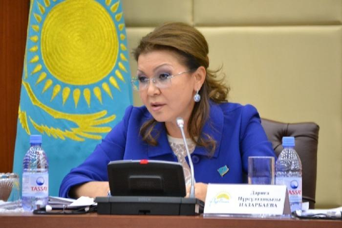 Nazarbayevin qızı Qazaxıstan Senatının sədri seçilib