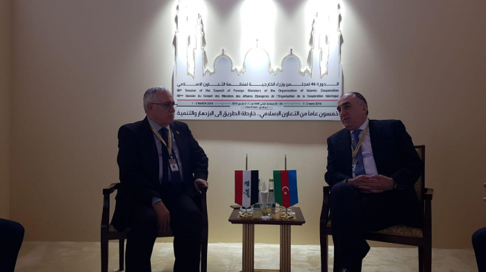 Elmar Mammadyarov meets with Foreign Ministry Undersecretary of Iraq