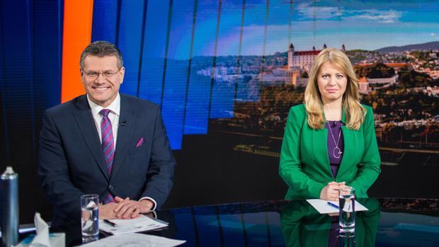 Una liberal independiente gana la primera vuelta en Eslovaquia