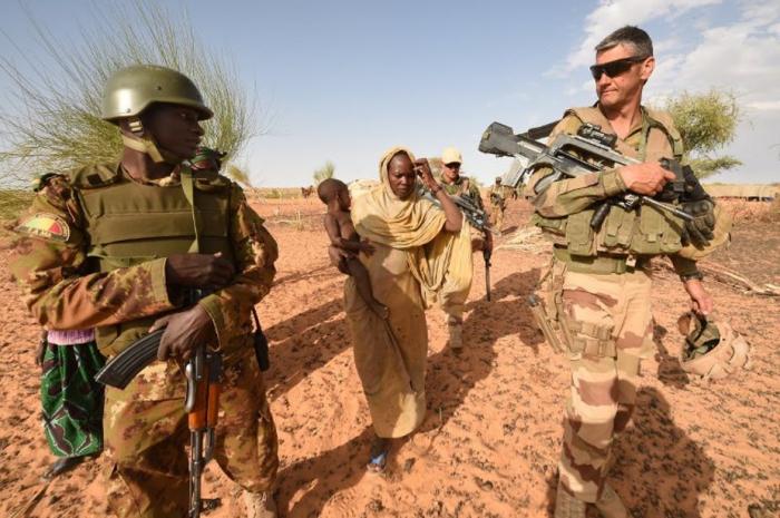 """Premier contact de la force G5-Sahel avec des """"terroristes"""""""