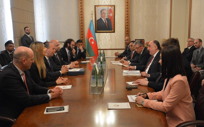 Azerbaijani FM meets with delegation headed by President of US-based Foundation for Ethnic Understanding