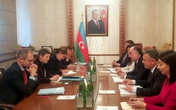 Azerbaijani FM meets with Deputy State Secretary on Foreign Affairs of Switzerland