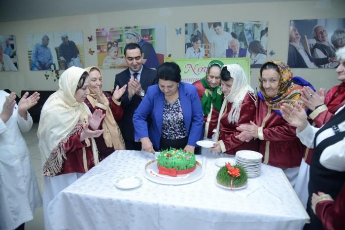 Sosial xidmət müəssisəsində Novruz şənliyi təşkil edilib