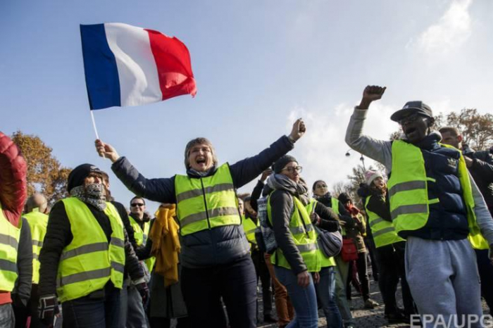 Thousands march in France in latest