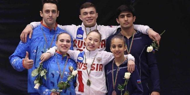 Azerbaijani gymnasts among bestat XIII Maia International Acro Cup 2019