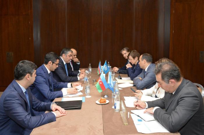 ICT co-op with UN Development Program discussed in Azerbaijan