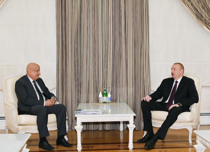 President Ilham Aliyev receives ISESCO director general
