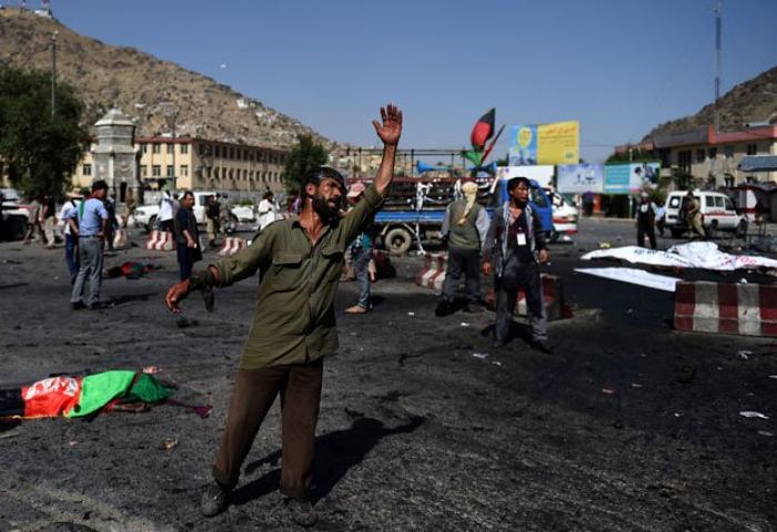 Explosions in Afghan capital, unclear if casualties: official