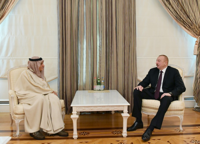 President Ilham Aliyev received chairman of Board of Directors of King Faisal Center for Research and Islamic Studies