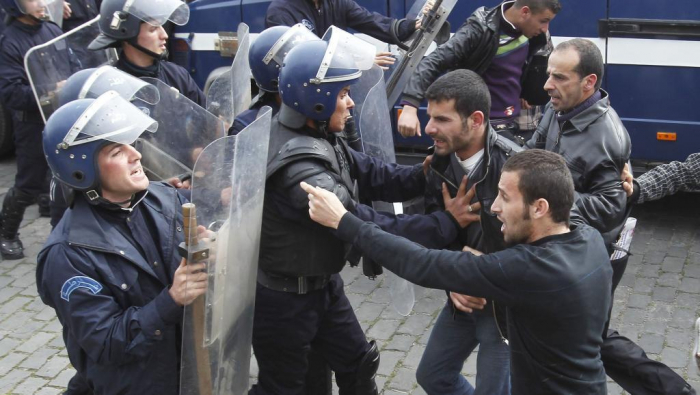 75 protesters arrested, 11 policemen injured in Algiers: police