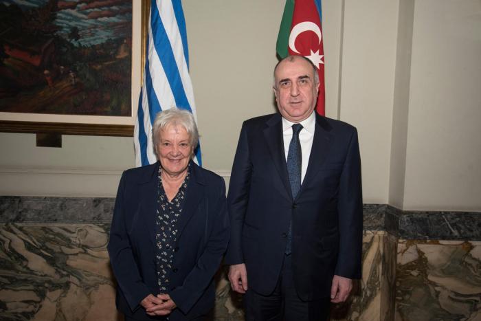 Mammadyarov holds meetings at Uruguayan Parliament