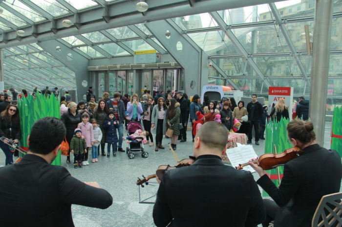 Metroda bayram konsertləri 3 gün davam edib