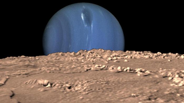 """La NASA propone una misión a la mayor luna de Neptuno, que puede albergar un """"mundo oceánico"""""""