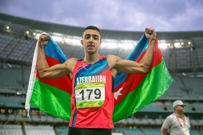 Azerbaijani athlete becomes European champion