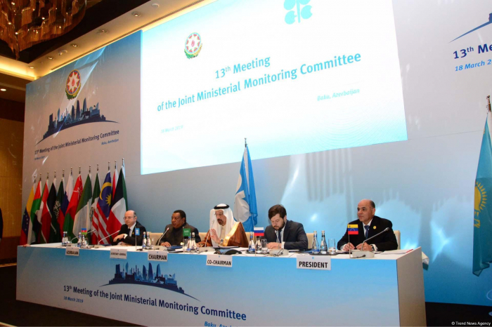OPEC/non-OPEC Joint Ministerial Monitoring Committee meeting underway in Baku