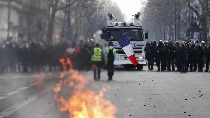 «Gilets jaunes»:   40.500 manifestants en France